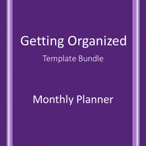 Monthly Planner -PLR