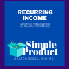 Recurring Income Strategies MRR-Cover Image