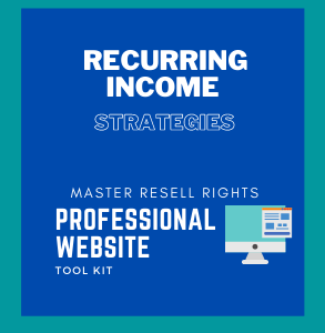 Recurring Income Strategies-Cover Image-WebSite-ToolKit