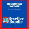 RecurringIncomeStrategeies -ResellerBundle