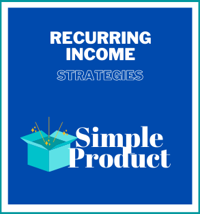 Recurring Income Strategies -Personal Use