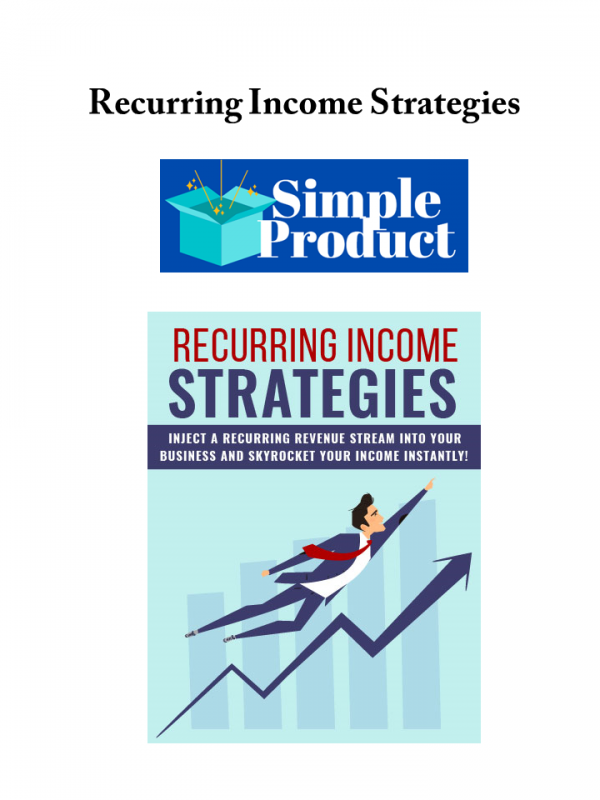Recurring Income Strategies -Personal Use-Image