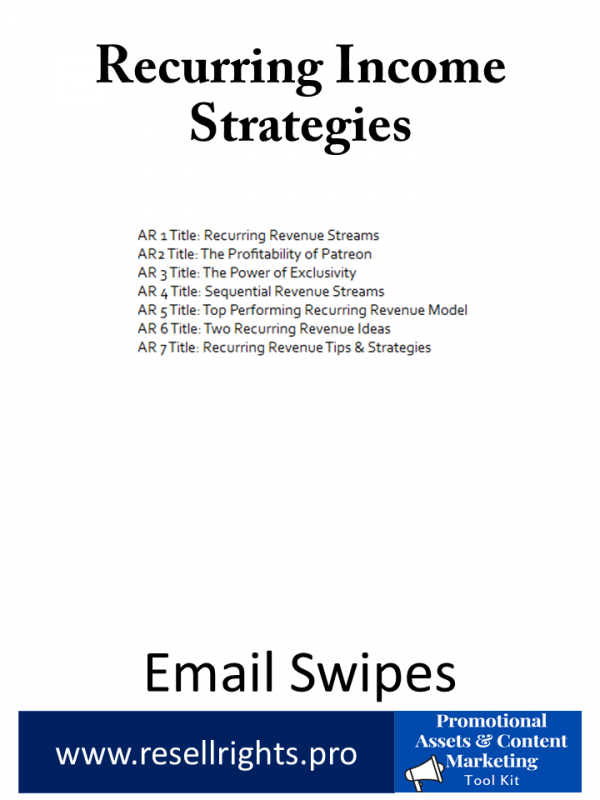 Recurring Income Strategies -Promotional Assets & Content Marketing Tool Kit-02