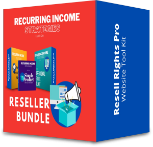 Recurring Income Strategies -Reseller Bundle