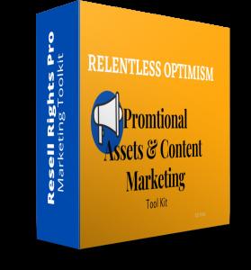 Relentless Optmisim - Marketing Kit