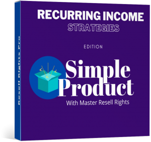 Recurring Income Strategies -SimpleProduct-MRR